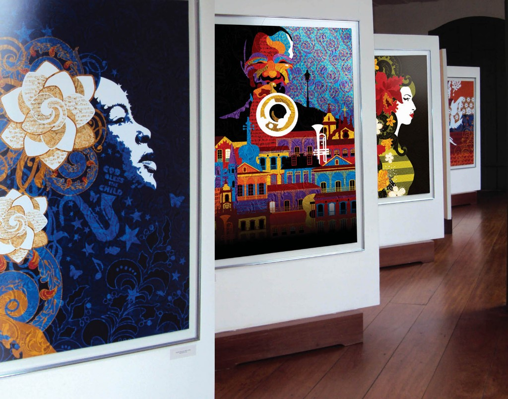 Exposição Dez vezes Jazz - Ouro Preto-MG