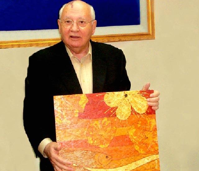 Flores e Peixes do Cerrado - Mikhail Gorbachev