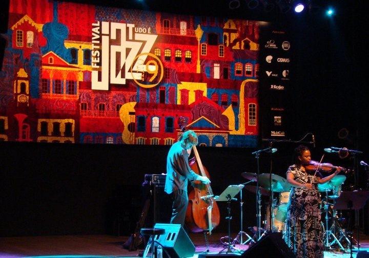 Festival Tudo é Jazz. Regina Carter Ouro Preto MG
