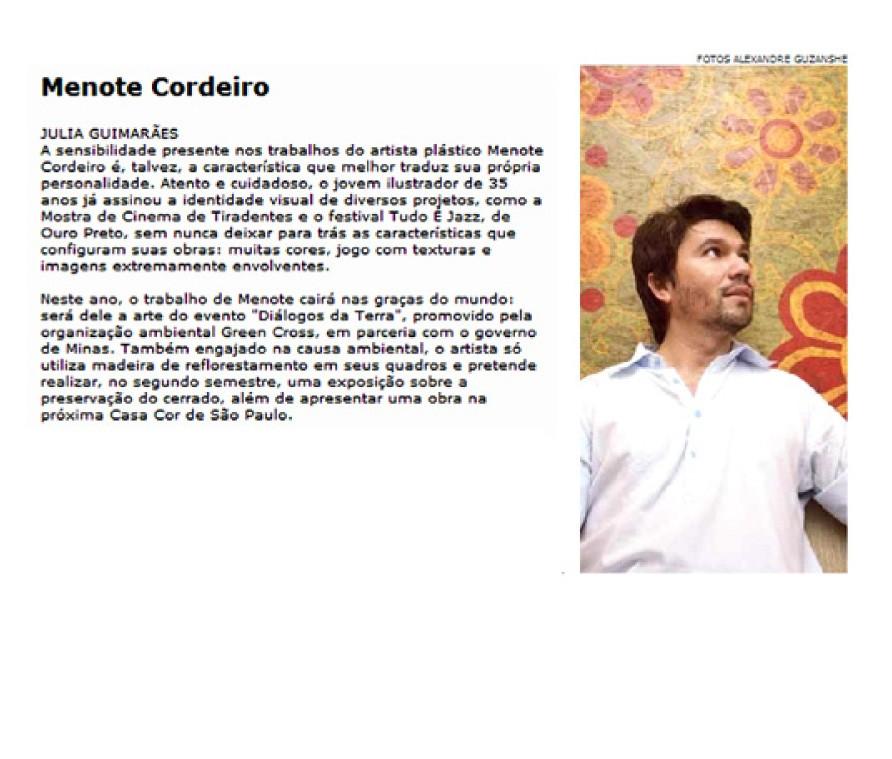 Entrevista para o Jornal O Tempo